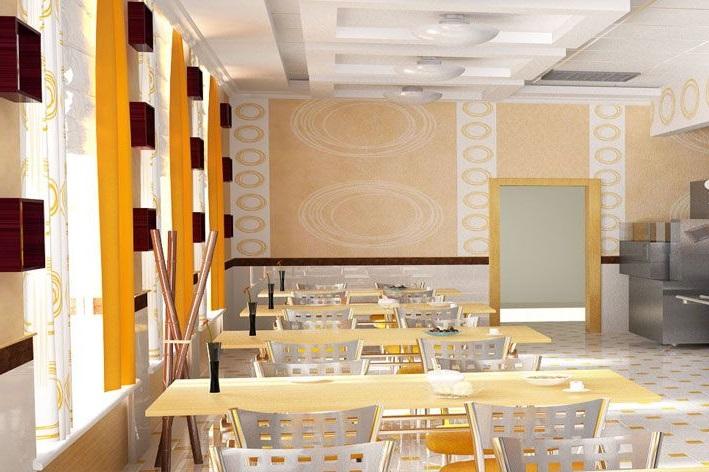 Ресторан, столики